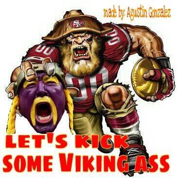 Kicking the Vikings
