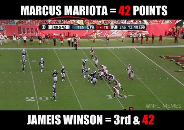 Mariota vs Winston