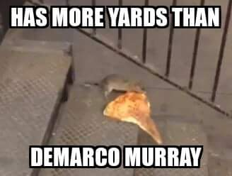 More yards per carry