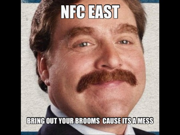 NFC East is a mess