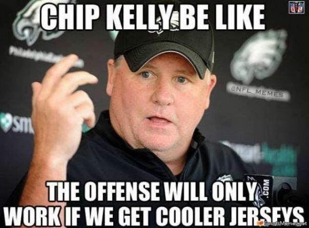 Need cooler jerseys