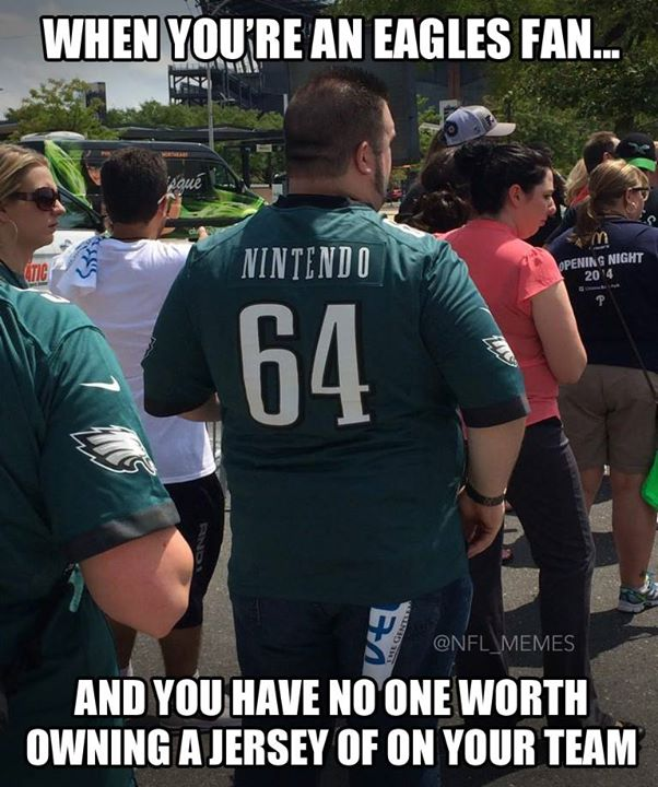 No one worth a jersey