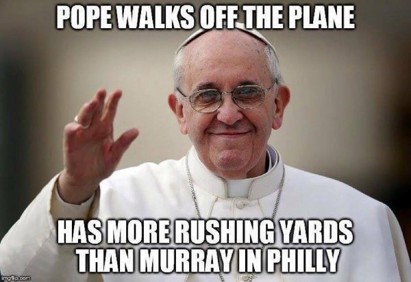 Pope better than Murray