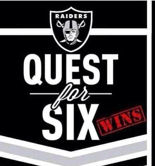 Raiders quest for six