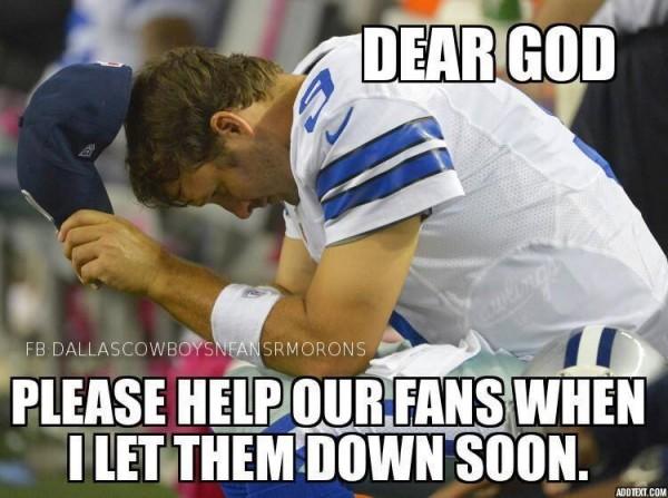 Romo praying
