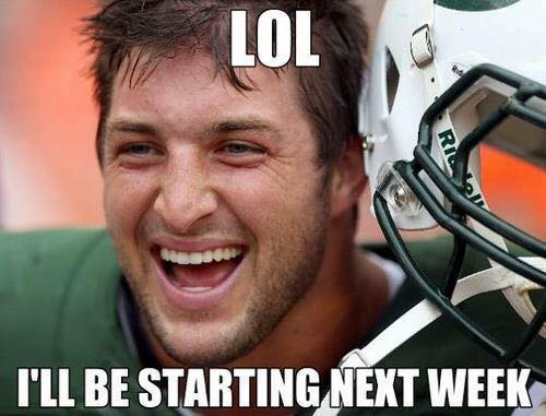 Tebow coming back