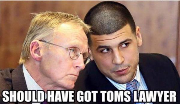 Tom's lawyer