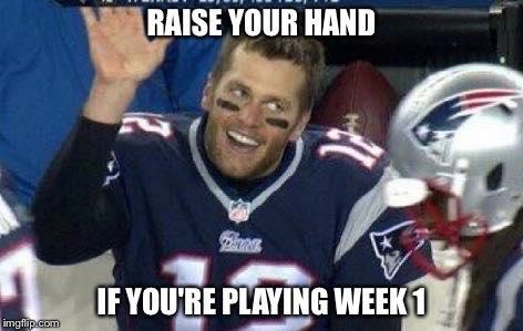 playing in week 1