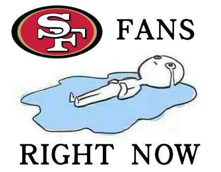 49ers fans right now