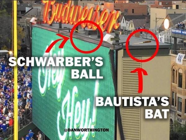 Bautista's bat