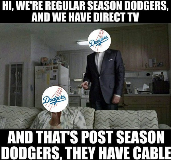 Cable Direct TV Dodgers