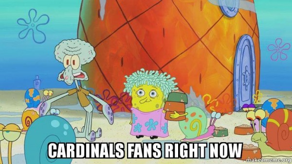 Cardinals fans right now