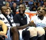 Charlotte Hornets bench