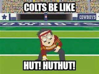 Colts be like