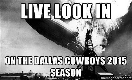 Cowboys season going down