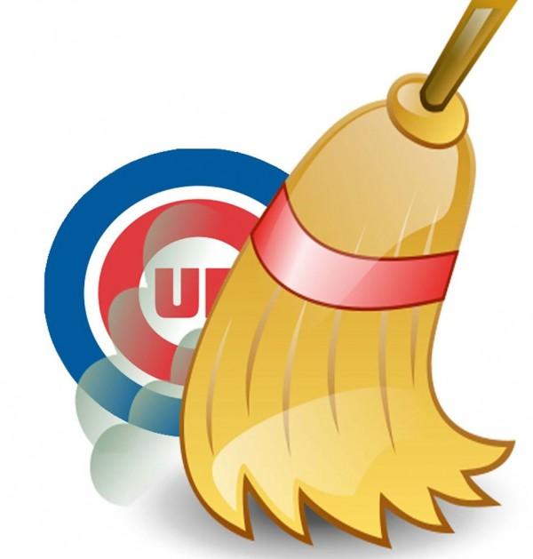 Cubs swept