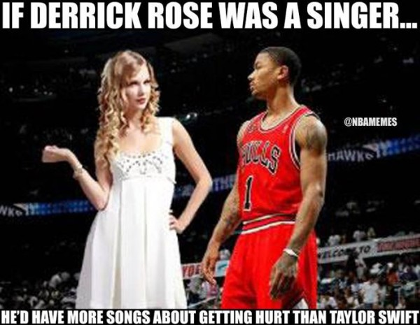 D-Rose and Taylor Swift