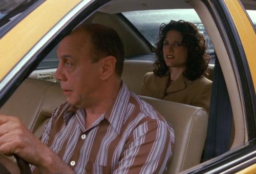 Elaine in Taxi