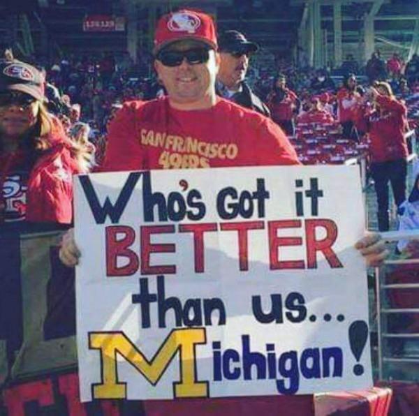 Envying Michigan