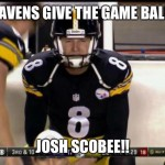 21 Best Memes Of Josh Scobee The Pittsburgh Steelers Choking