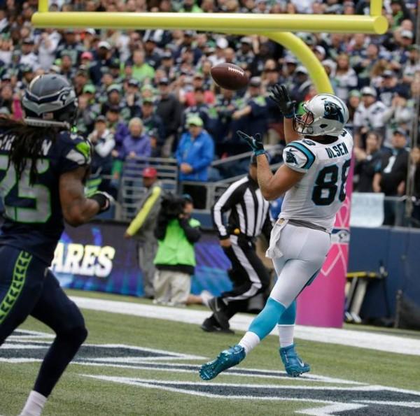 Greg Olsen touchdown