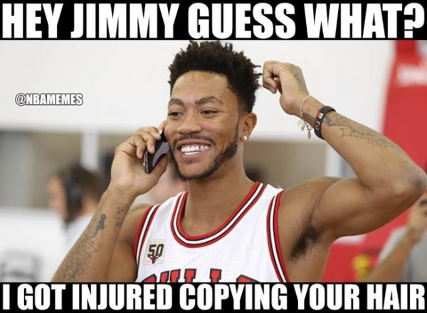 1O54crF 24 best memes of derrick rose getting injured again ~ latest sports news