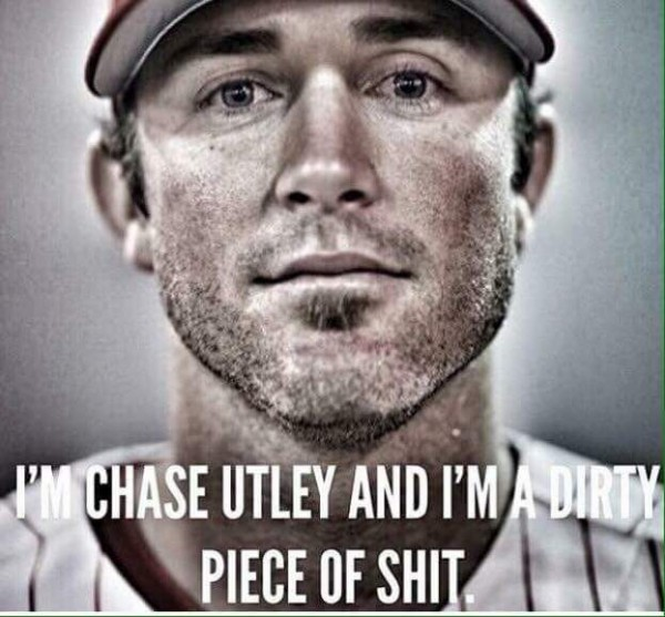 Hello, I'm Chase Utley
