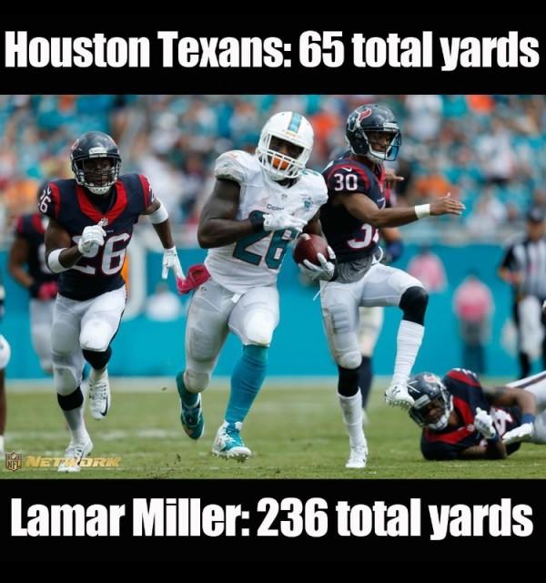 Lamar Miller better than Texans