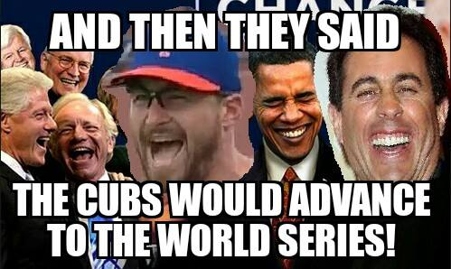 Laughing at the Cubs