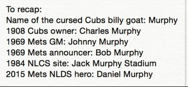 Murphy curse