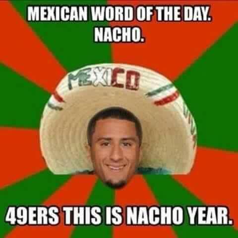 Nacho year Niners