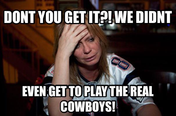 Not the real cowboys