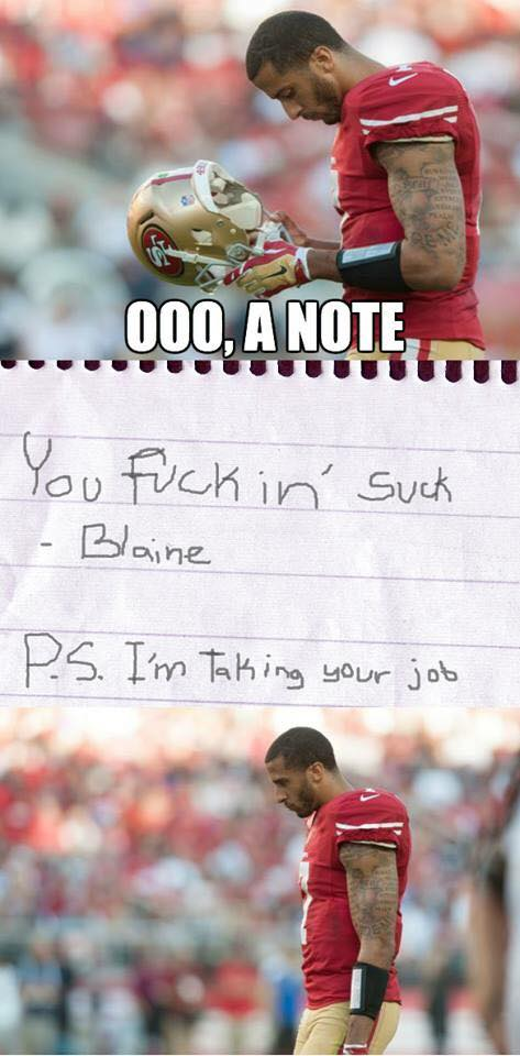Note from Blaine