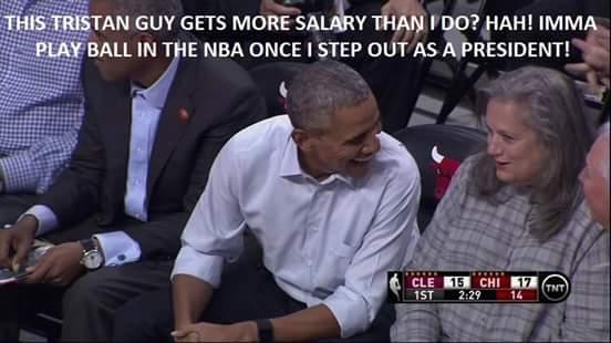 Obama's next job