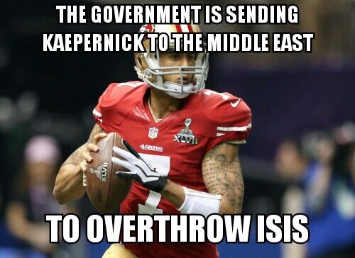Overthrowing Isis