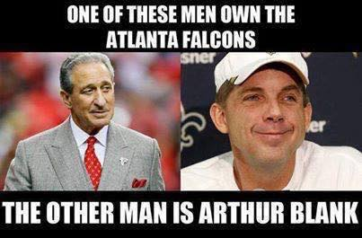 Owning the Falcons