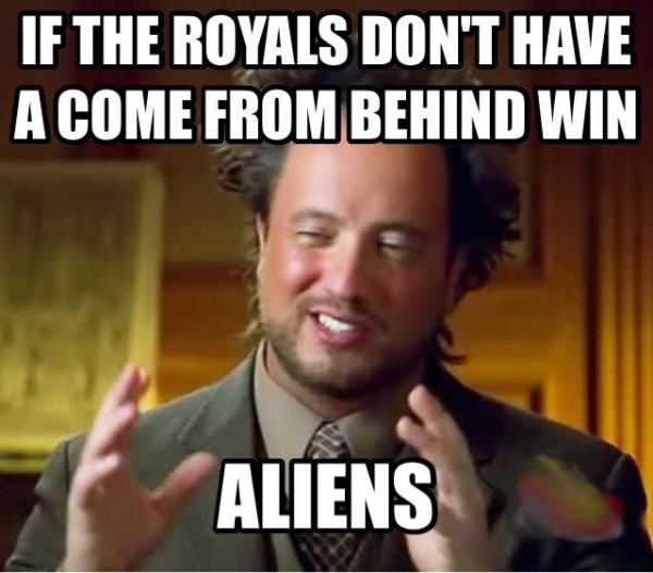 Royals always come from behind