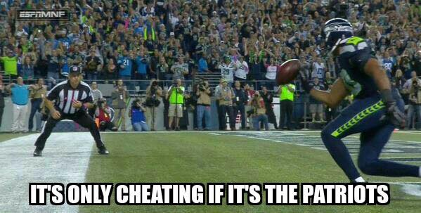 Seahawks cheating