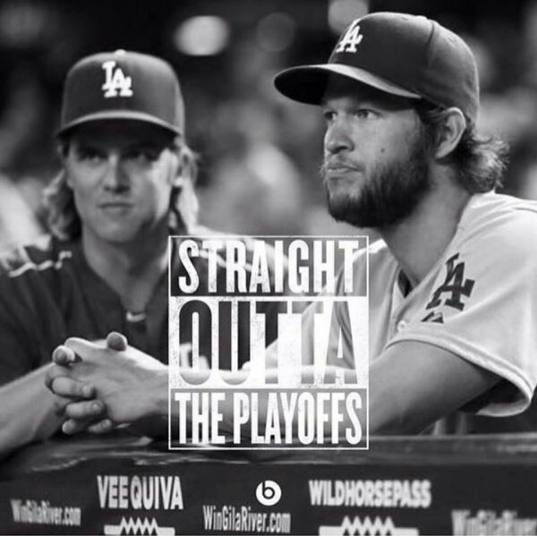 Straight outta the playoffs
