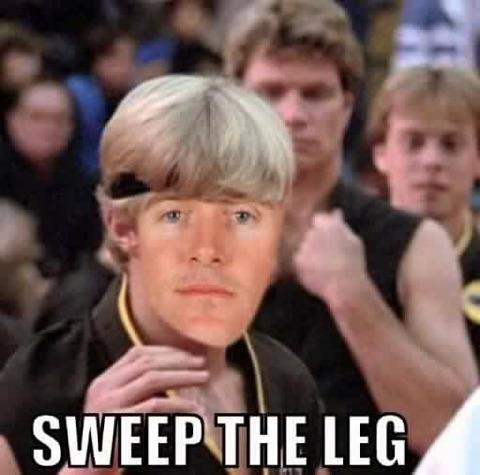 Sweep the leg 2
