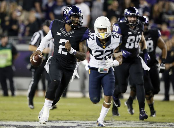 TCU beat West Virginia
