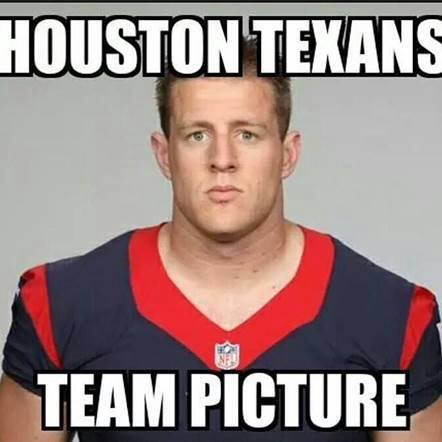 Texans team picture