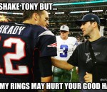 Tom Brady & Tony Romo Meme