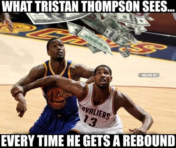 Tristan Thompson meme