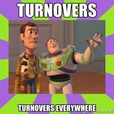 Turnover everywhere
