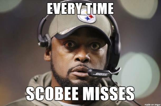 When Scobee misses