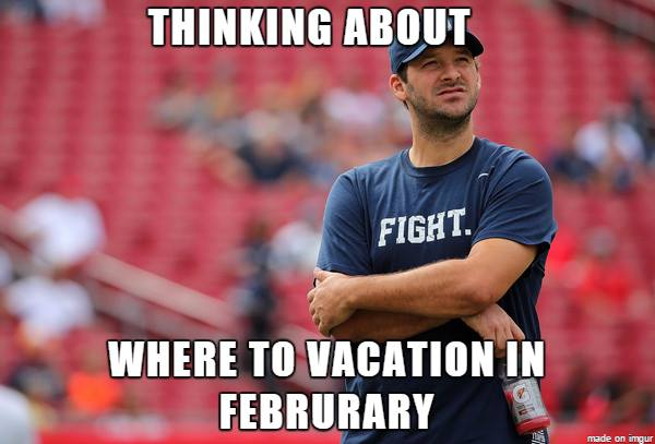 Romo vacation