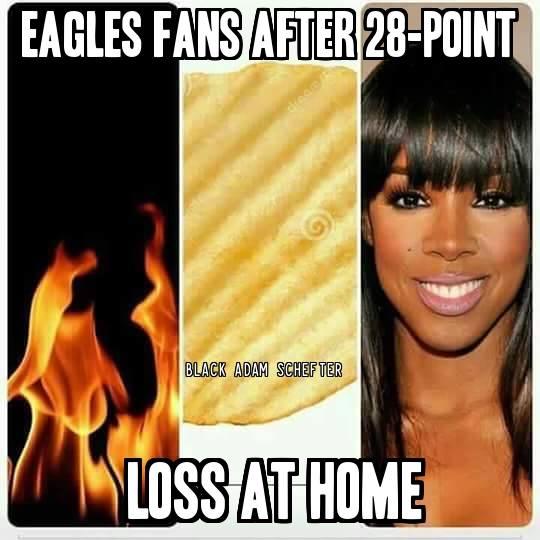 28-point loss at home