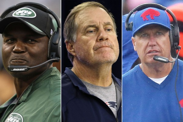 AFC East coaches