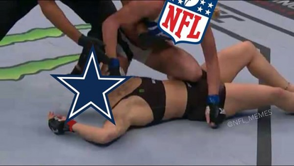 Beating the Cowboys up